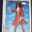 1986 Simplicity pattern 7791 size 6/8 uncut out of print Captain Hook costume FREE US SHIPPING