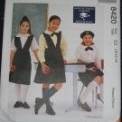 McCall 8420 Girls' School Uniforms Pattern 10-14 uncut FREE US SHIPPING