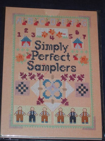 VTG Cross Stitch sampler pattern cards FREE US SHIPPING
