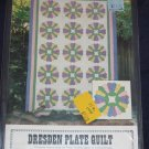 1981 Dresden Plate quilt pattern twin/dble/queen/king sizes unused out of print FREE US SHIPPING
