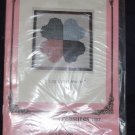 "VTG ""Log Cabin Hearts"" quilt square pattern unopened package FREE US SHIPPING"