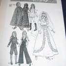 "15.5""/17.5"" Chrissy, Velvet, Kerry, Mia doll clothes pattern FREE US SHIPPING"
