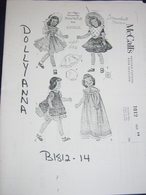 Free Patterns For Making Doll Clothes - American Doll Clothes