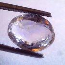 2.98 Ct Unheated Untreated Natural Ceylon White Sapphire Gems