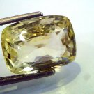8.7 Ct Unheated Untreted Natural Ceylon Yellow Sapphire Pukhraj