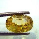 5.30 Ct Unheated Natural Ceylon Yellow Sapphire/Pukhraj AAA