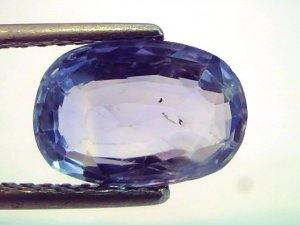 4.19 Ct Unheated Untreated Natural Ceylon Blue Sapphire/Neelam