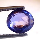 3 Ct Unheated Untreated Natural Ceylon Blue Sapphire Neelam