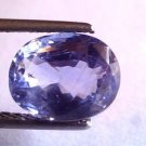 4.22 Ct Unheated Untreated Natural Ceylon Blue Sapphire Gemstone Certified