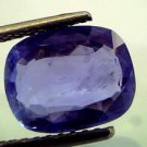 5.69 Ct IGI Certified Unheated Untreated Natural Ceylon Blue Sapphire/Neelam