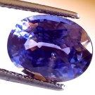 "6.68 Ct Untreated Natural Srilankan Blue Sapphire Neelam Gems ""CERTIFIED"""