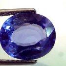 "6.00 Ct Unheated Untreated Natural Ceylon Blue Sapphire AAAAA ""CERTIFIED"""