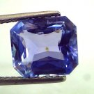 "5.54 Ct Acher Cut Unheated Untreted Natural Ceylon Blue Sapphire ""CERTIFIED"""