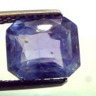 "4.87 Ct Unheated Untreated Natural Ceylon Blue Sapphire Neelam ""CERTIFIED"""