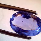 "4.60 Ct Unheated Untreated Natural Ceylon Blue Sapphire Neelam""CERTIFIED"""