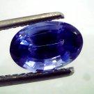 3.01 Ct Rare Unheated Kashmir Origin/Jammu Blue Sapphire (IGI)