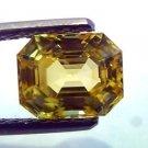 3.02 Ct Unheated Untreated Natural Ceylon Yellow Sapphire AAAAA