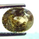6.51 Ct Unheated Untreated Natural Ceylon Yellow Sapphire Pukhraj