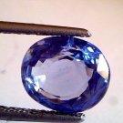 4.64 Ct Unheated Untreated Natural Ceylon Blue sapphire Neelam
