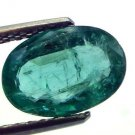 2.30 Ct Top Premium Grade Natural Zambian Emerald Panna Gemstone