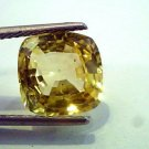 6.32 Ct IGI Certified Unheated Untreated Natural Ceylon Yellow Sapphire AAA