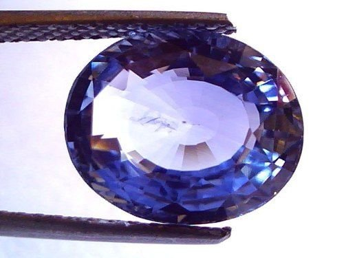 8.29 Ct Top Grade IGI Certified Untreated Natural Ceylon Blue Sapphire AAA