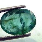 3.64 Ct Untreated  Unheated Natural Zambian Emerald Gemstone