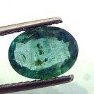 2.03 Ct Unheated Untreated Natural Zambian Emerald Gemstone,Panna
