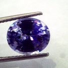 5.59 Ct IGI Certified Unheated Untreated Natural Ceylon Blue Sapphire AAAAA