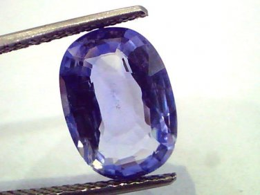 6.32 Ct IGI Certified Unheated Untreated Natural Ceylon Blue Sapphire