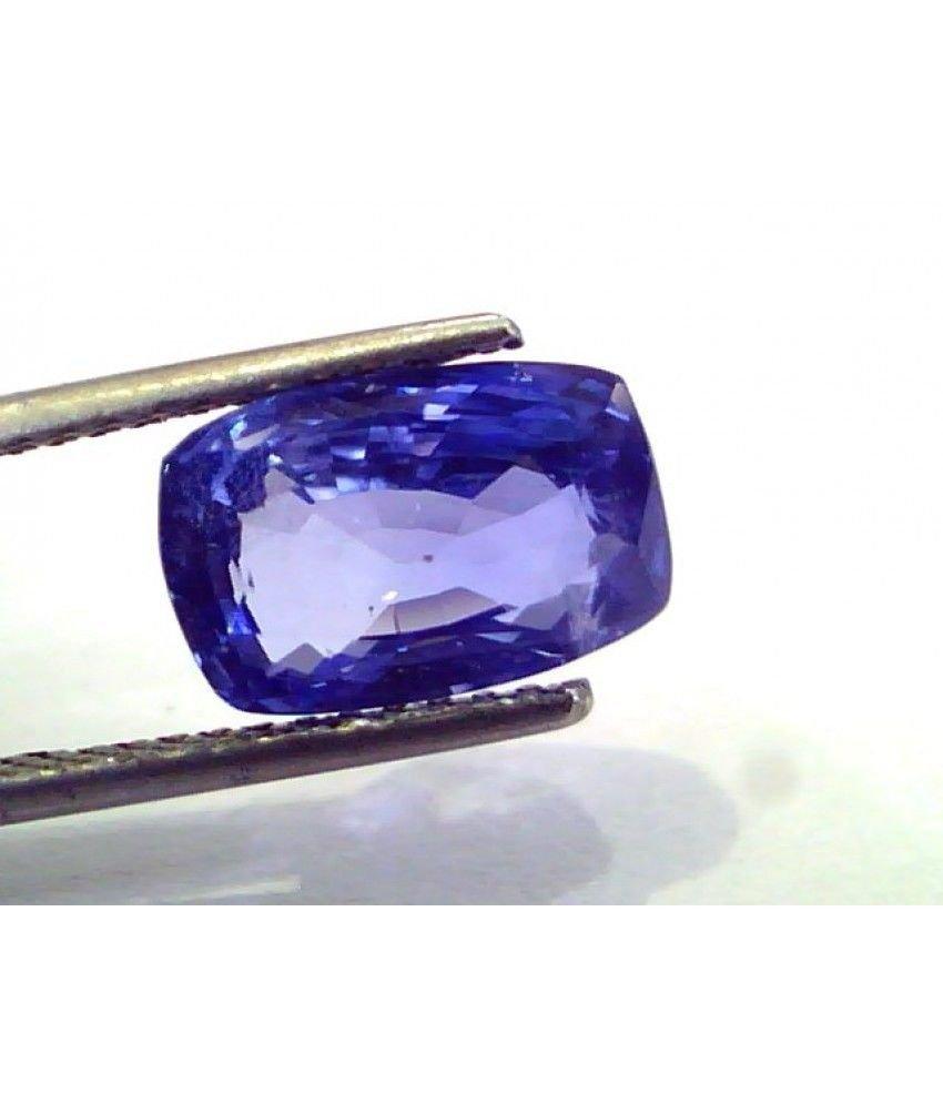 5.63 Ct IGI Certified Untreated Unheated Natural Ceylon Blue Sapphire