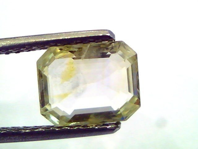 2.79 Ct Unheated Untreated Natural Ceylon Yellow Sapphire/Pukhraj