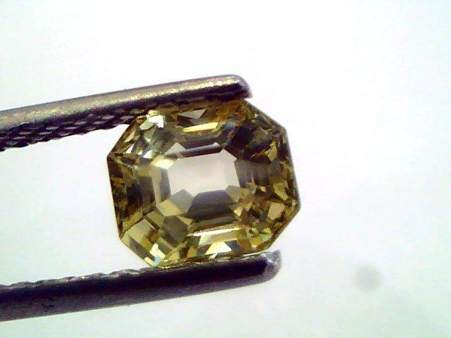1.48 Ct Unheated Untreated Natural Ceylon Yellow Sapphire/Pukhraj