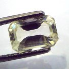 2.51 Ct  Unheated Untreated Natural Ceylon Yellow Sapphire/Pukhraj