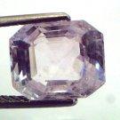 5.53 Ct Unheated Untreated Natural Premium White Sapphire Gemstone