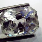 Huge 10.33 Ct Unheated Untreated Natural White Sapphire Gemstone AAAAA