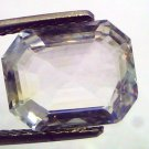 6.12 Ct Unheated Untreated Natural Premium White Sapphire Gemstone