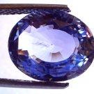8.29 Ct Top Grade IGI Certified Natural Ceylon Blue Sapphire AAA