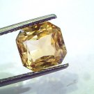 6.31 Ct Unheated Untreated Natural Ceylon Yellow Sapphire AAA