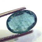 3.35 Ct Untreated Natural Zambian Emerald Gemstone Panna stone