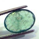 4.35 Ct Untreated Natural Zambian Emerald Gemstone Panna stone