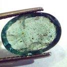 5.12 Ct Untreated Natural Zambian Emerald Gemstone Panna stone