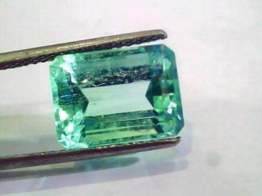 8.73 Ct Unheated Natural Colombian Emerald Gemstone**RARE**