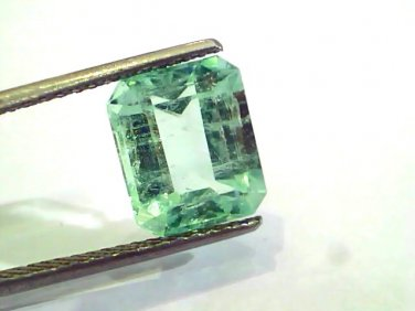 4.75 Ct Unheated Natural Colombian Emerald Gemstone**RARE**