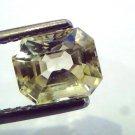 2.13 Ct Unheated Untreated Natural Ceylon Yellow Sapphire/Pukhraj