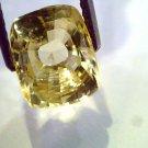 5.60 Ct 9 Ratti Unheated Untreated Natural Ceylon Yellow Sapphire Gems