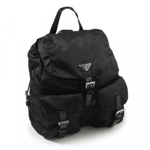 Authentic PRADA BZ2811 Black Backpack