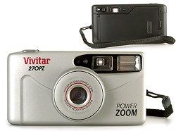 VIVITAR POWER ZOOM 35MM CAMERA