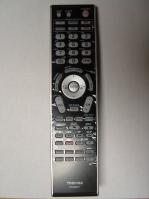 TOSHIBA CT-90277 REMOTE CONTROL PART # 75007950