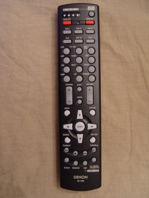 DENON RC-1070 REMOTE CONTROL PART # 3991097103
